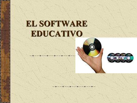 EL SOFTWARE EDUCATIVO.