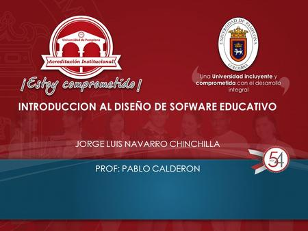 INTRODUCCION AL DISEÑO DE SOFWARE EDUCATIVO