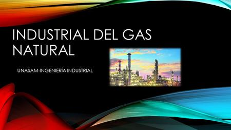 INDUSTRIAL DEL GAS NATURAL UNASAM-INGENIERÍA INDUSTRIAL.