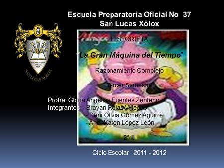 Escuela Preparatoria Oficial No 37