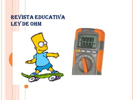 REVISTA EDUCATIVA LEY DE OHM