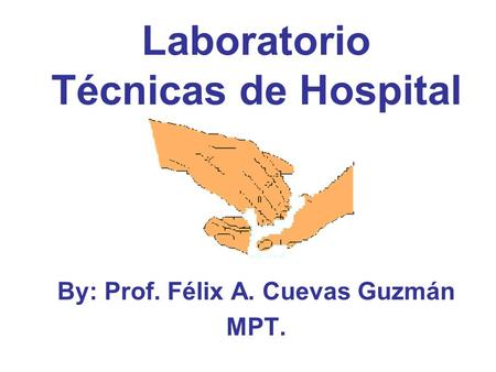 Laboratorio Técnicas de Hospital