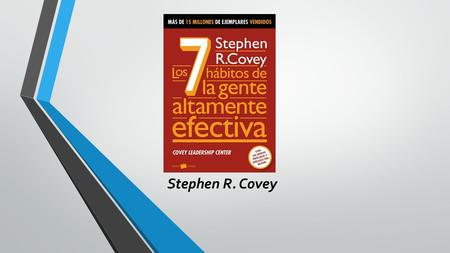 Stephen R. Covey.