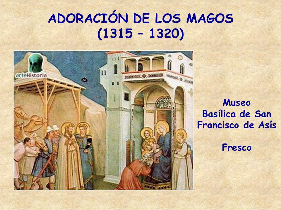 Aparición al Capítulo de Arlés (1290 – 1300) Museo: Basílica de San Francisco de Asís.
