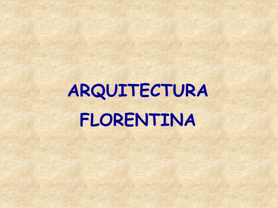 FILIPPO BRUNELLESCHI 1377 - 1446 Escultor y arquitecto Era un estudioso de la arquitectura antigua italiana lo que le permitió rescatar de ella aspectos positivos que introdujo para renovar la escuela arquitectónica de Florencia, que a la fecha era considerada de vanguardia y ejemplo a seguir en el arte italiano.