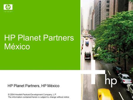 HP Planet Partners México