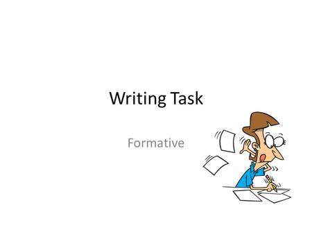 Writing Task Formative.