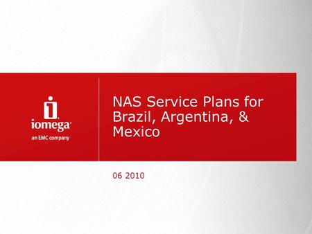 NAS Service Plans for Brazil, Argentina, & Mexico 06 2010.