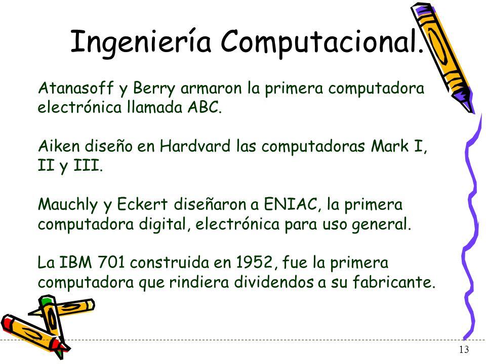 14 Ingeniería Computacional.
