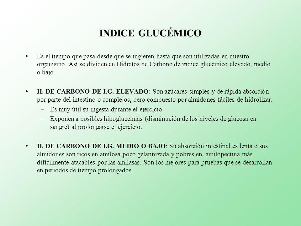 HIDRATOS DE CARBONO Y FUTBOL Representan la base energética para el futbolista.