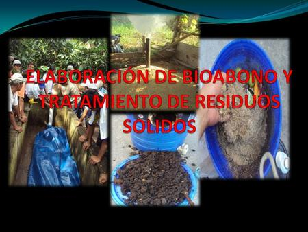 BIOABONO ANAEROBICO Produce METANO (CH 4 ). CH 4 calienta 62 veces + C0 2 CH 4 : 15% al Calentamiento Global CH 4 + 0 2 = CO 2 + 2H 2 O.