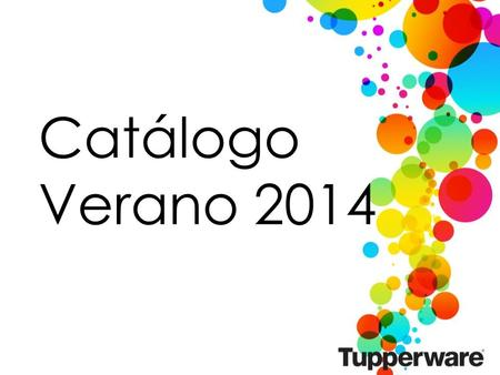 Catálogo Verano 2014. 2 PLACEHOLDER FOR CATALOG VIDEO.