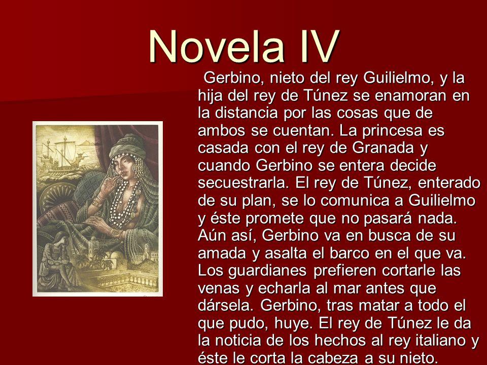 Novela V Isabetta se enamora de Lorenzo, quien trabaja para la familia.