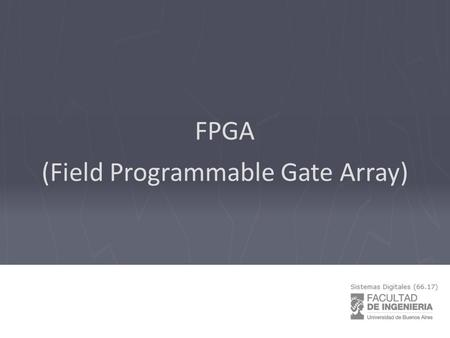 (Field Programmable Gate Array)