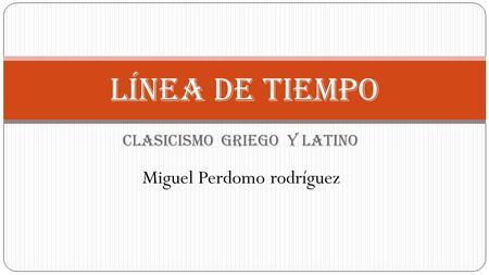 que es clasicismo latino dating
