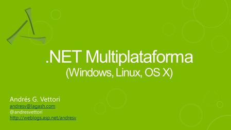 .NET Multiplataforma (Windows, Linux, OS X)