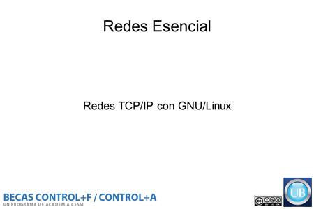 Redes TCP/IP con GNU/Linux