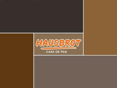 "PLAN DE ACCION COMERCIAL - MARKETING ""HAUSBROT"""