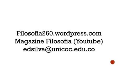 Magazine Filosofia (Youtube)