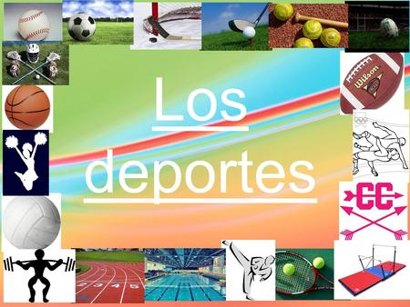 Los deportes. jugar al vs. practicar / participar en -Certain sports use 'to play' (jugar al) -Sports that you don't 'play,' use practicar or participar.