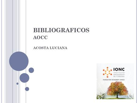 BIBLIOGRAFICOS AOCC ACOSTA LUCIANA. This article was published on September 25, 2015, at NEJM.org.