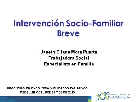 Intervención Socio-Familiar Breve