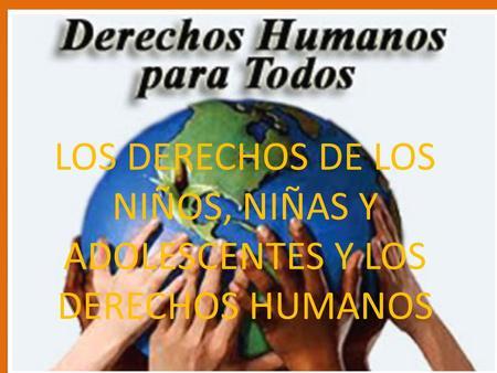 Cronologia de los derechos humanos ppt descargar for Derechos de los jovenes