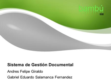 Sistema de Gestión Documental