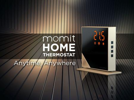 SMART Se adapta a ti momit Home Thermostat
