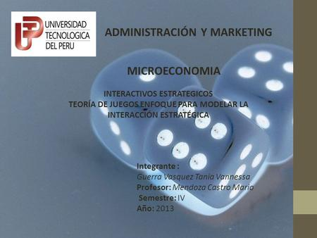 ADMINISTRACIÓN Y MARKETING