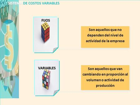 SISTEMA DE COSTOS VARIABLES