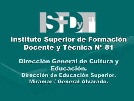 Sistema educativo en peru ppt descargar for Instituto formacion docente