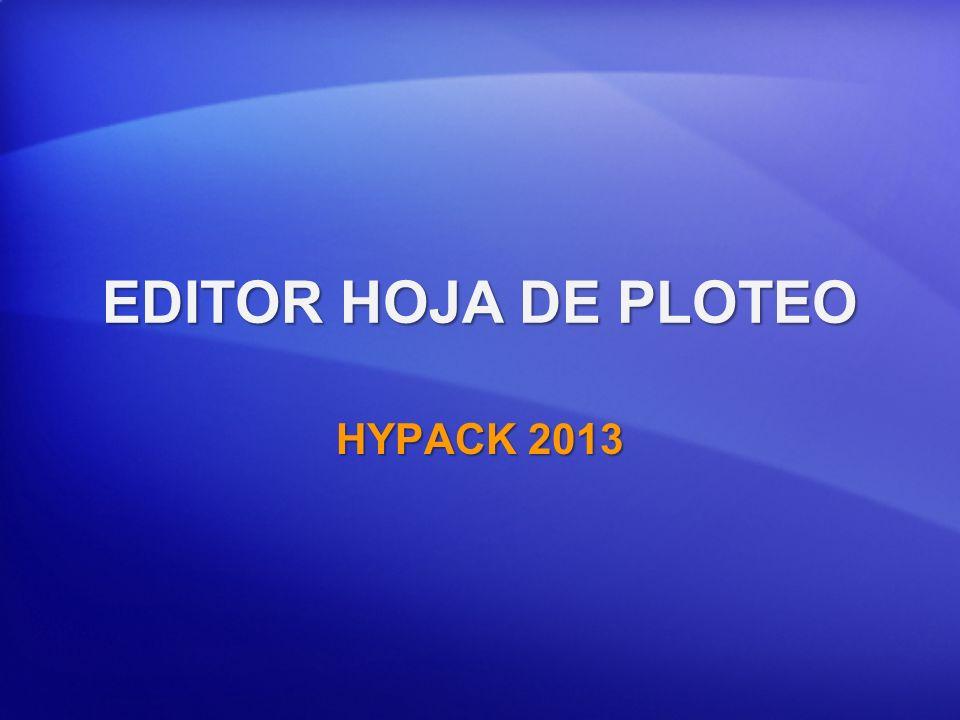 HOJA DE PLOTEO (*.PLT) Creado en: Creado en: EDITOR HOJA PLOTEOEDITOR HOJA PLOTEO Usado en: Usado en: HYPLOT: Para definir los límites de la hoja de ploteoHYPLOT: Para definir los límites de la hoja de ploteo Por los drivers HPGL.DLL y HPGLMULT.DLL cuando plotea en SURVEY.Por los drivers HPGL.DLL y HPGLMULT.DLL cuando plotea en SURVEY.