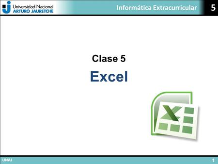 Clase 5 Excel.
