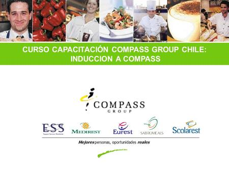 CURSO CAPACITACIÓN COMPASS GROUP CHILE: