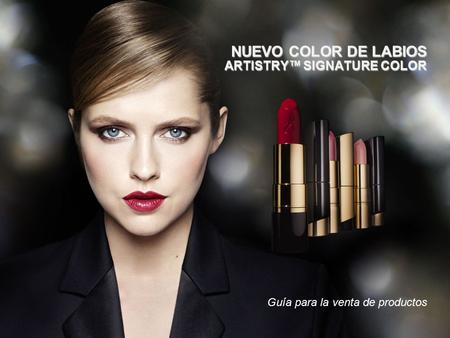 NUEVO COLOR DE LABIOS ARTISTRY™ SIGNATURE COLOR