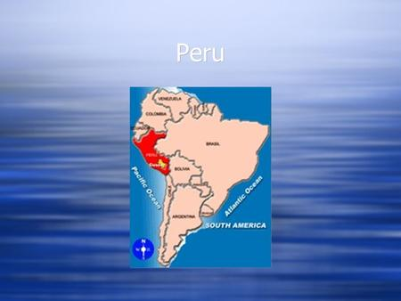 Peru. Natives  People from Peru are Peruvian or Peruanos in Spanish.