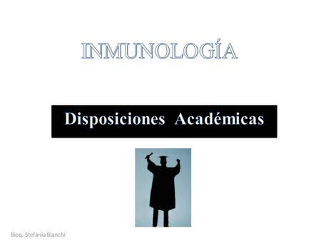 Disposiciones Académicas