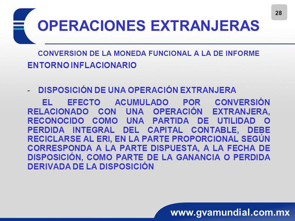 29 www.gvamundial.com.mx NORMAS DE PRESENTACIÓN TRANSACCIONES EN MONEDA EXTRANJERA.