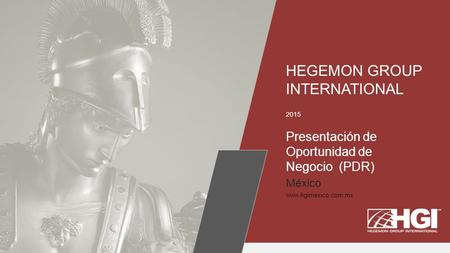 HEGEMON GROUP INTERNATIONAL