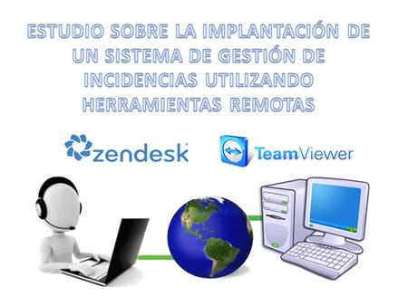 Índice Introducción Service Desk Software gestión incidencias Zendesk Software control remoto TeamViewer Integración Conclusión.