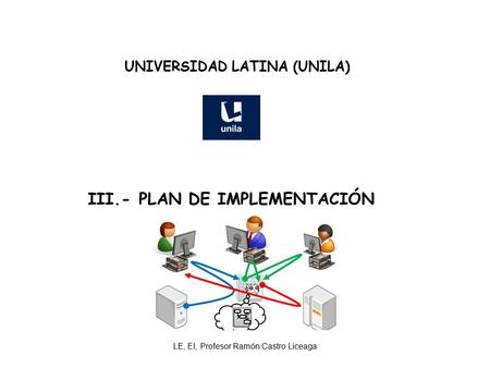 UNIVERSIDAD LATINA (UNILA) III.- PLAN DE IMPLEMENTACIÓN