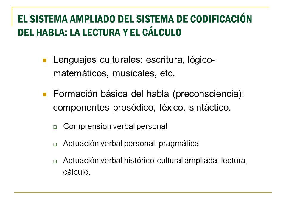 DESARROLLO FORMATIVO DE LOS SISTEMAS AMPLIADOS E.CONATIVA E.