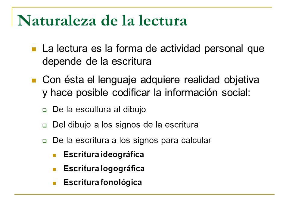 Capacidad superior de la personalidad, determinada histórica y cinéticamente por la ampliación del sistema de codificación del habla, que permite leer y entender literal y constructivamente el lenguaje escrito.