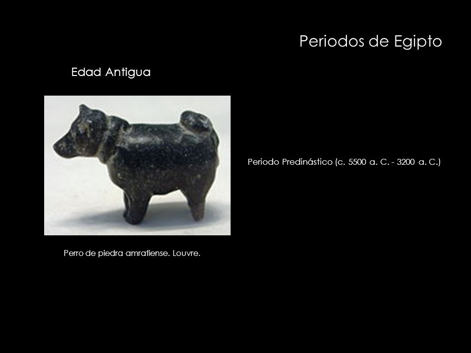 Periodos de Egipto Periodo Protodinástico (c.3200 - 3100 a.
