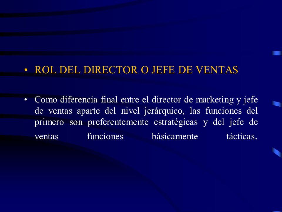 JEFE DE VENTAS Requerimientos para obtener el éxito en el papel del jefe de ventas que Vocación para desempeñar el puesto, Capacidad para comprender, motivar eficazmente un equipo de vendedores.