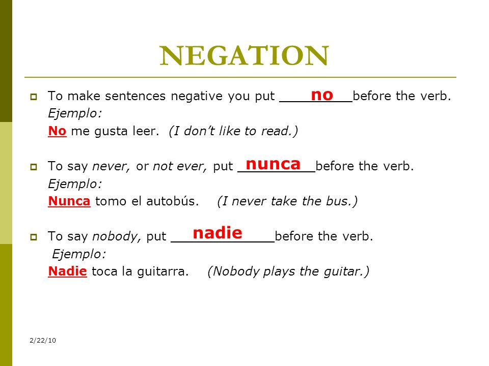 Translations 1.My sister never helps at home. 2. Do you all still play the guitar.
