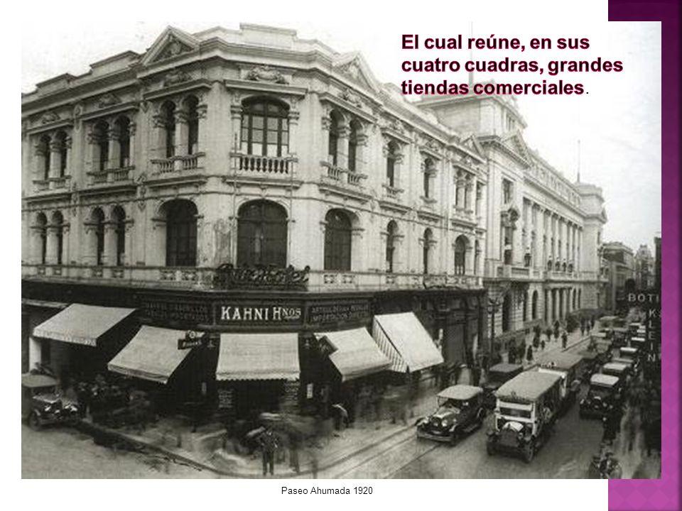 Paseo Ahumada 1930