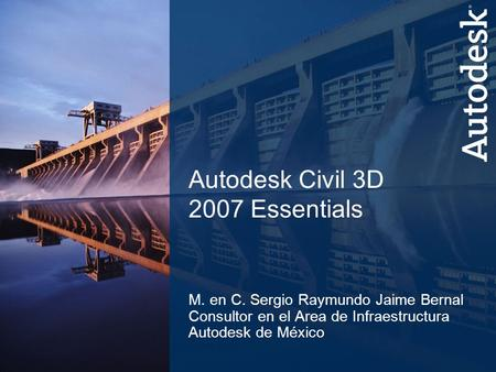 Autodesk Civil 3D 2007 Essentials