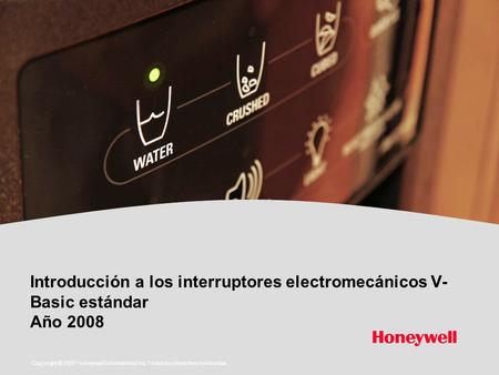 Copyright © 2007 Honeywell International Inc